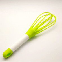 "Top for Silicone Egg Whisk 11.5"" folding plastic whisk supply to Japan Supplier"