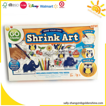 Make Your Own Shrink Art