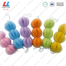 10 Years manufacturer for Gradient Bath Belt High quality lantern long bath ball supply to Germany Manufacturer