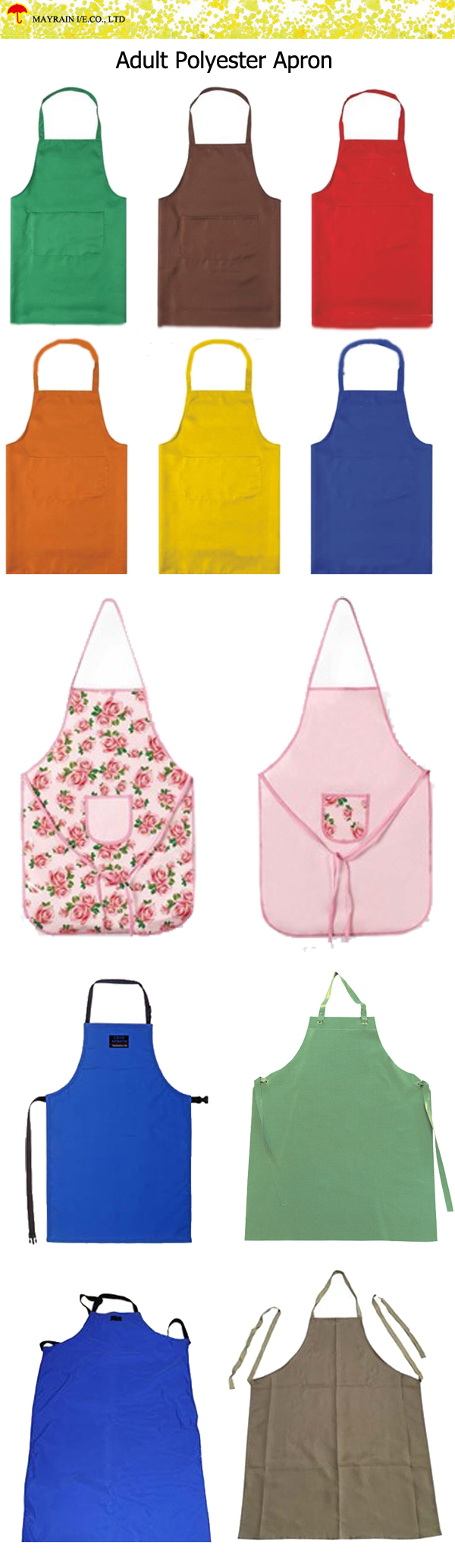 Adult Polyester Apron