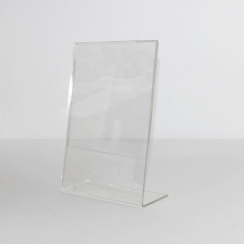Vertical Menu Display Stand Clear Acrylic Sign Holder​