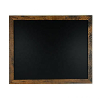 "18""x22"" Perfect Rustic Wood Premium Surface Magnetic Chalk Board"
