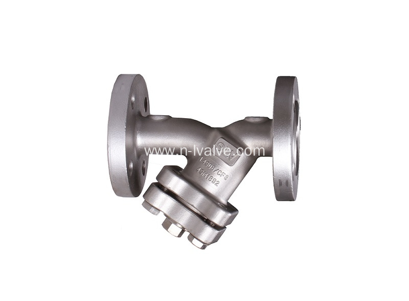 Middle Temperature Wax Process Y strainer