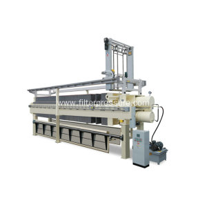 Hydraulic Driven Sewage Chamber Membrane Filter Press