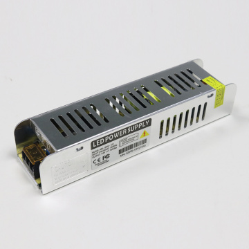 120W LED power supply slender design 12V 10A