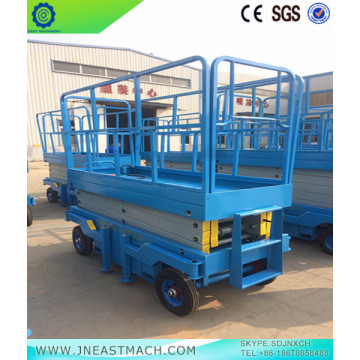 1.0t 14m AC DC powered Scissor Lift