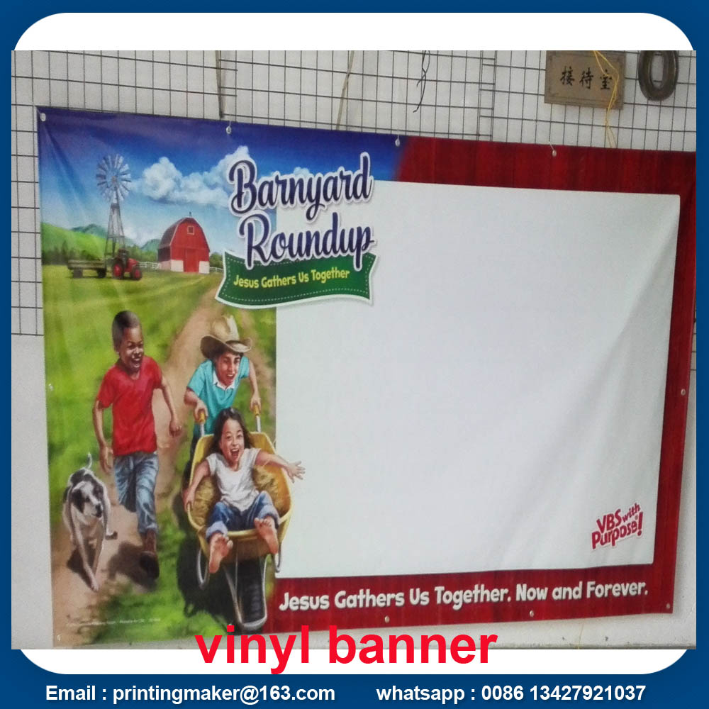 Custom Vinyl Backlit PVC Flex Banner for Advertising