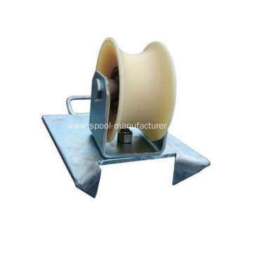 China for Cable Roller Pit Edge Guide Roller Steel Roller supply to Russian Federation Wholesale