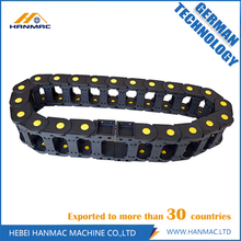 Low Cost for Protection Cable Drag Chain Black Nylon Drag Chain Printer Router Machine supply to Eritrea Manufacturer