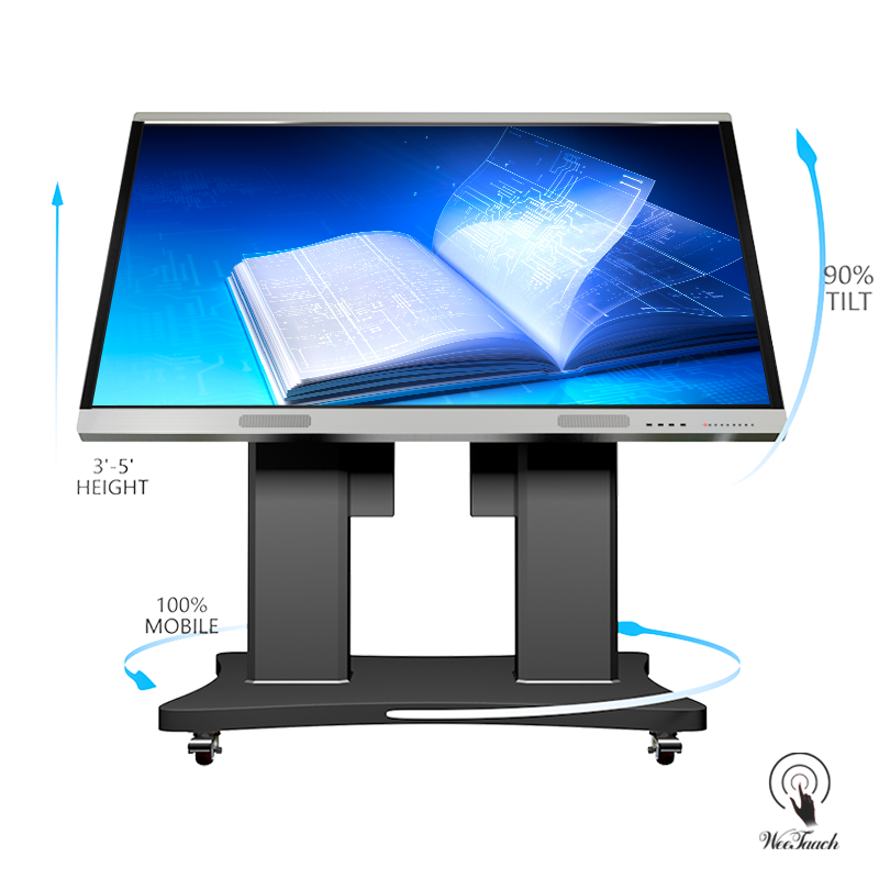 86 inches interactive screen with Automatic stand