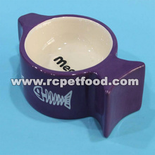 dog bowl with storage