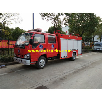 Dongfeng 4x2 5000L Fire Trucks