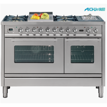 Freestanding Cooktop Oven Brass Burner Ilve