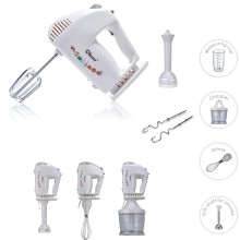 Electric Multifucntion Hand Blender Mixer 3 in 1