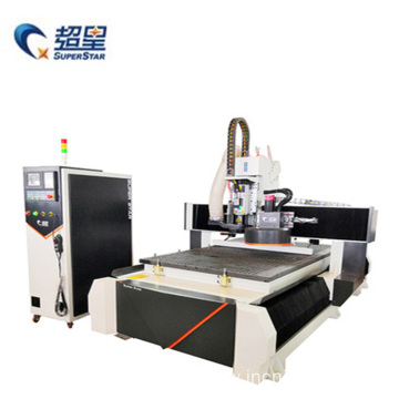 ATC Screw CNC Woodworking Router Wood Carving Machine