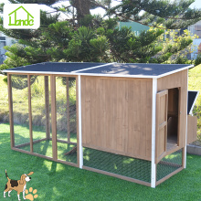 UV proof backyard wooden chicken/rabbit house