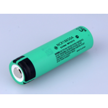OEM manufacturer custom for Panasonic 18650 Battery Panasonic 18650 Battery NCR18650A 3100mAh 6A discharge supply to Tunisia Exporter