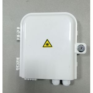 Cheap for Outdoor Fiber Distrbution Box 8 Ports Outdoor Plc Splitter Box export to Yemen Supplier