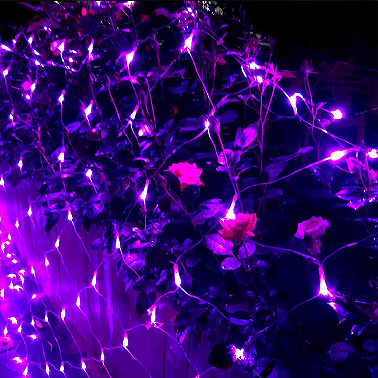 led twinkle net light