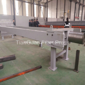 Filter-Cloth Washing Starch Cast Iron Filter Press