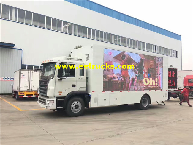 P8 LED Advertising Vehicles