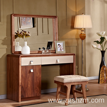 Bamboo Glass Dressing Table