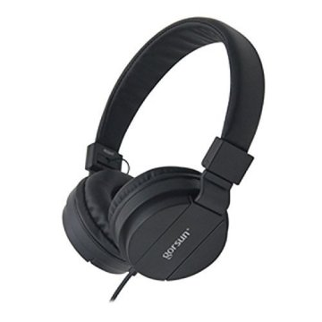 Adjustable headband Stereo Wired Headphones