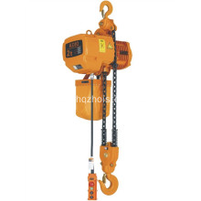 China Factory for Portable Crane Hoists 1P/3P Single Speed Electric Chain Hoist export to France Factory