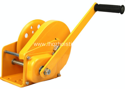 Manual Portable Boat Wire Rope Hand Winch