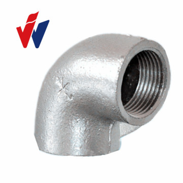 Leading for Malleable Cast Iron Pipe Fitting Plain INQO brand banded elbow malleable iron pipe fittings export to Germany Factory