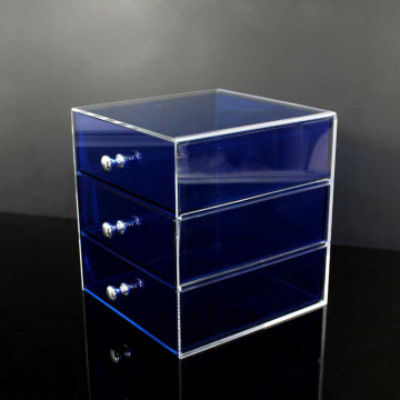 Best Quality for Acrylic Cosmetic Organizer 3 Tier Acrylic Makeup Case Organizer supply to Portugal Manufacturer