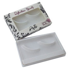 Folding Custom Eyelash Packaging with Clear Window