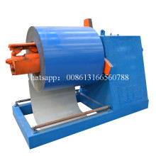 5 T Automatic Steel Coil Roof Sheet Uncoiler