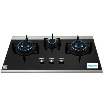 3-Burner Built-in Gas Hob