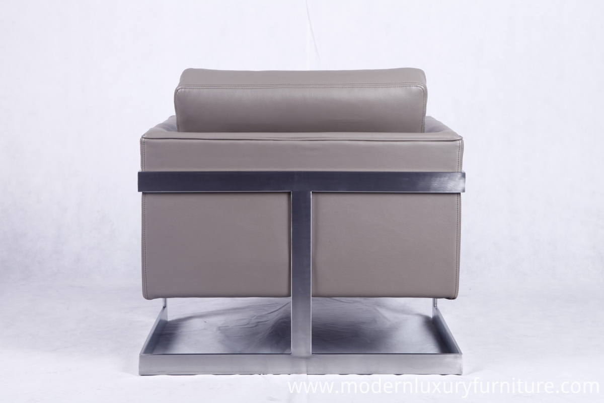 PU leather chair