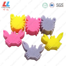 Newest animal shape bath sponge