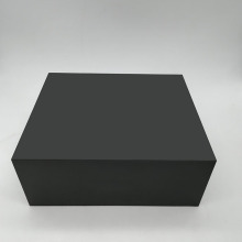 Custom Black Luxury Denture Cardboard Box