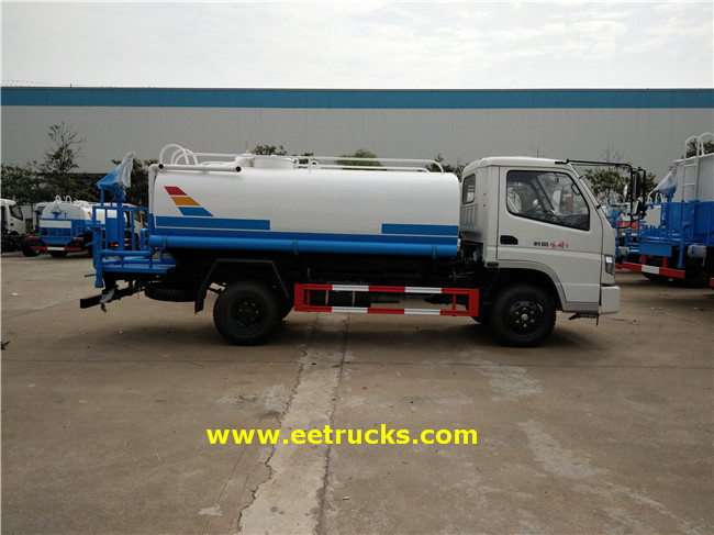 115HP Water Sprinkler Trucks