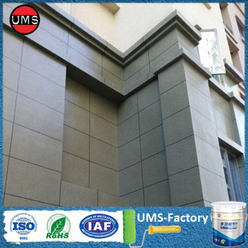 Exterior masonry rock effect paint grey