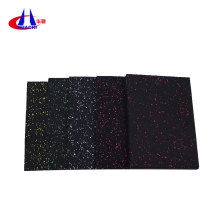 Low Cost for Gym Exercise Rubber Mats Accessories colorful gym rubber flooring export to Suriname Supplier
