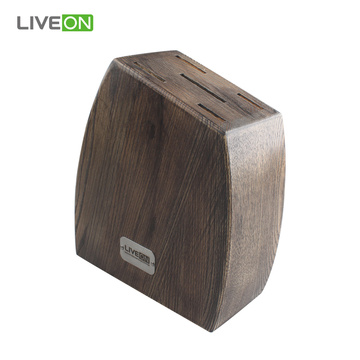 Wooden Kitchen Knife Block Set