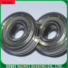 China Top 10 for Grooved Plastic Bearing Small ball roller bearing 608-ZZ with double groove export to United States Minor Outlying Islands Supplier