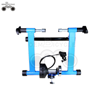blue indoor resistance smart bicycle trainer