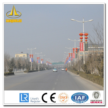 8m Galvanized Telescopic Flag Pole