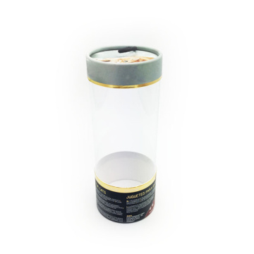 High Quality PVC Clear Cylinder Plastic Tube Box