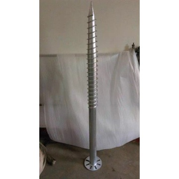 Galvanized Screw Pile for pile Foundation