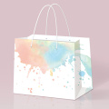 Environmental Elegant Customized Gift Embossing Paper Bag