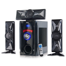 Best-Selling for Offer 3.1 Subwoofer Speaker,Home Theater Speaker System From China Manufacturer Mini bluetooth speaker box with radio lights supply to Armenia Factories