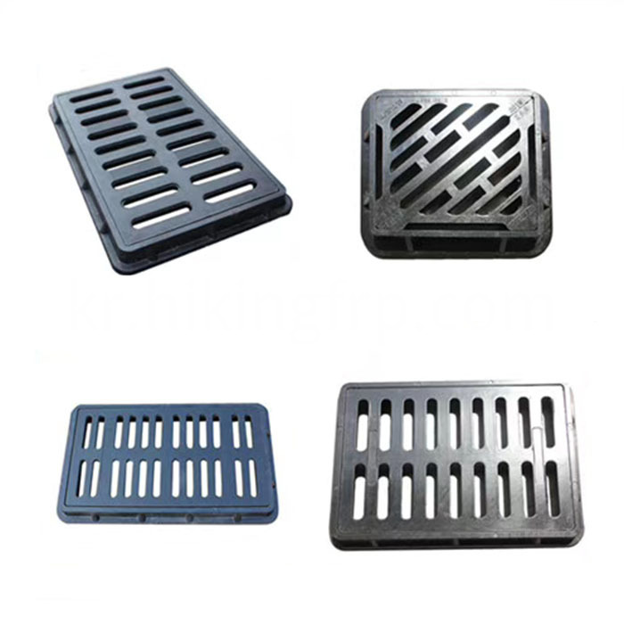 Hot Sale SMC Square Compsoite Resin Manhole Cover