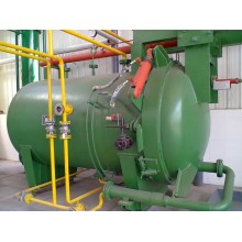 Horizontal vibrating filter large vegetable oil filter